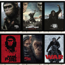 Nordic Rise The Planet of The Apes Movie Quality Canvas Painting Hotel Bar Cafe Poster and Prints Wall Art Pictures Home Decor