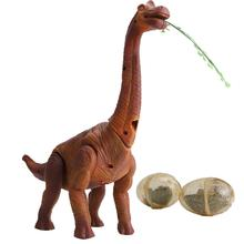 RC Electric Walking Lay Eggs Dinosaur Remote Control Electronic Robot With Light