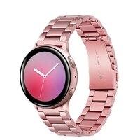 Rosa Gold Metall Handgelenk Band Für Xiaomi Huami Amazfit GTS 2 GTS2 Armband GTR 42mm GTR2 Uhr strap für amazfit Bip lite S band