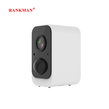 RANKMAN IP Camera Rechargeabl Battery WiFi Wireless Security WiFi Surveillance Camera Waterproof 1080p Outdoor Indoor Shop Car image