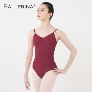 Image 3 - Balletto Body Backless Delle Donne Della Ragazza di Balletto Per Adulti Ginnastica Body Body Abiti Da Ballo Ballerina 5549