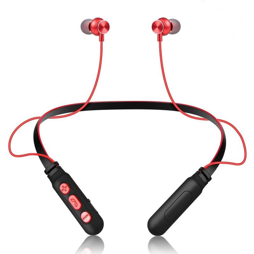 For Xiaomi M8 Wireless Bluetooth Earphones Sport Stereo Headset Handfree Blutooth Earphone Earbuds With Microphone Neck Hanging