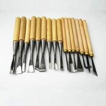 16pcs Wood carving tools hand carving knife carving chisel grinding polishing and blank making set