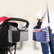 Bag Organizer Nappy Diaper-Bags Stroller-Accessories Basket-Hook Carriage Cart Buggy