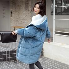 Vintage hiver épais chaud velours Parkas femmes manteau rembourré vêtements d'extérieur Casaco grande taille XXL veste d'hiver femmes surdimensionné