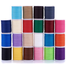 about 11m/roll Waxed Polyester Cords 1mm Twisted Cord For jewelry making DIY Bracelet Necklace Crafts Accessories