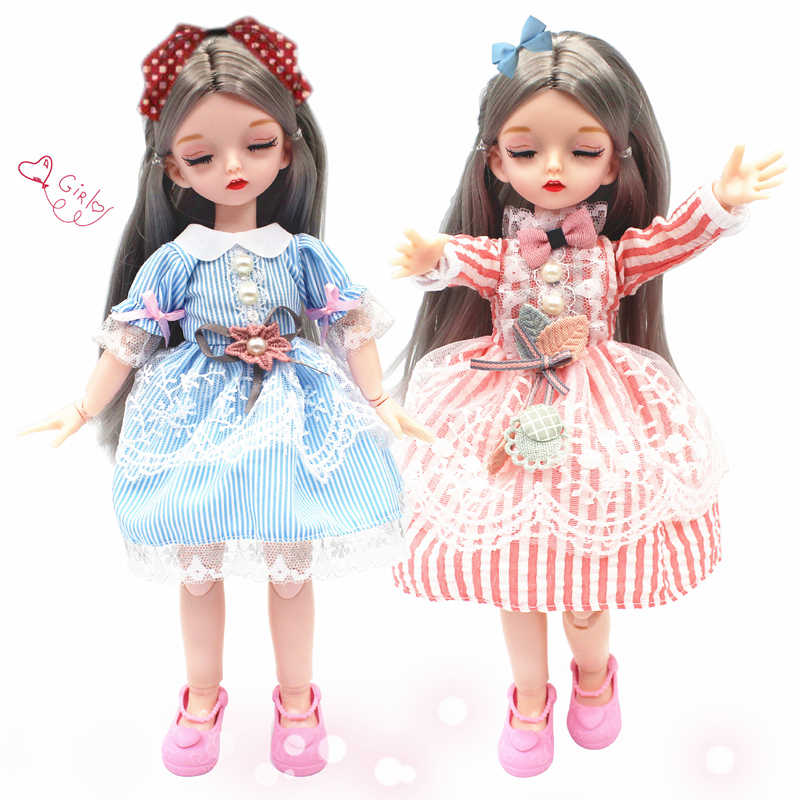 12inch Doll Clothes 1//6 Ball Jointed Doll Princess Dress Outfits For Blythe