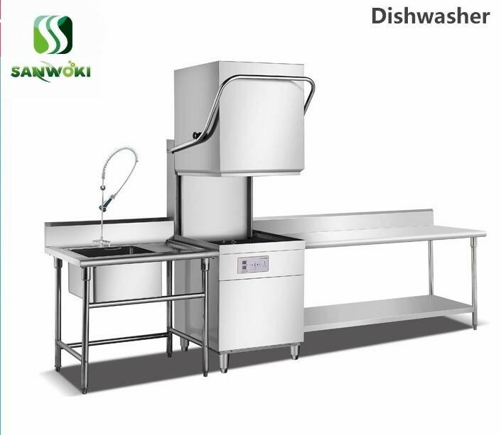 Commercial Kitchen Digital All-round Dishwasher Bowling Machine