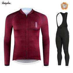 Зимняя одежда для велоспорта, одежда для езды на велосипеде с длинным рукавом, комплект Джерси для верховой езды, термальный флисовый Майо, ...