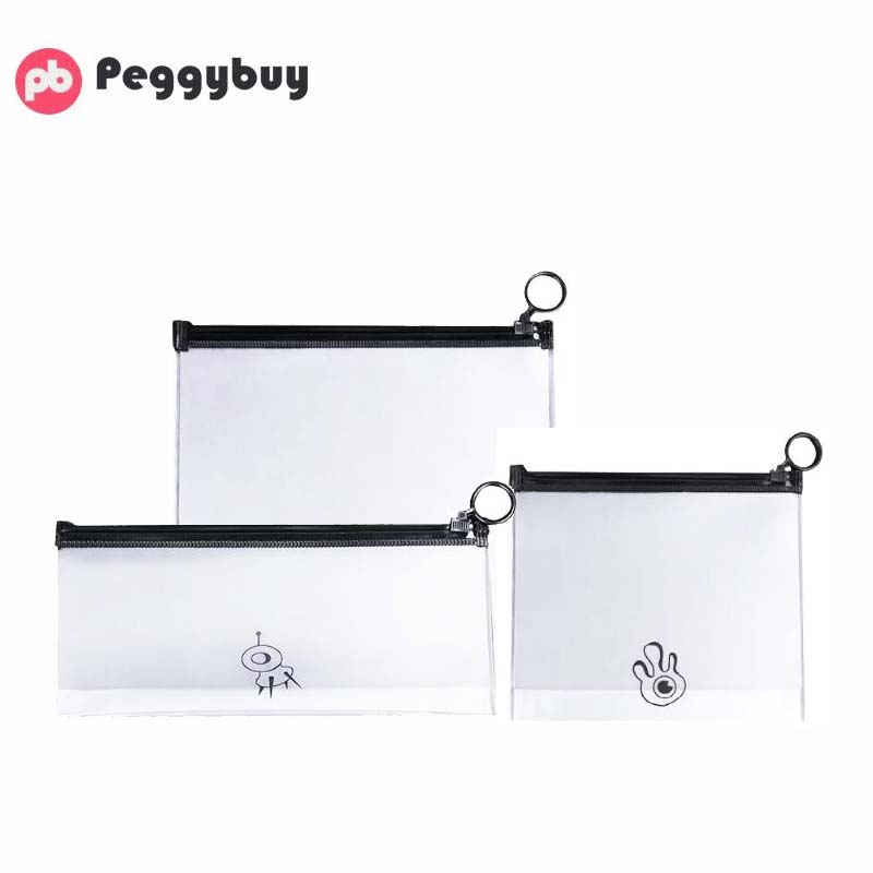 Clear Waterproof Makeup Bag Transparent Women Travel Cosmetic Wash Pouch PVC Toiletry Bags Travel Organizer Beauty Case  Make Up