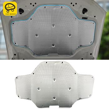 CarManGo samochodów przednia maska silnika Firewall Mat Pad Deadener ciepła izolacja akustyczna bawełna dla BMW X3 G01 X4 G02 2018-2020 tanie i dobre opinie CN (pochodzenie) Kaptur Izolacja akustyczna Blachy Folia aluminiowa