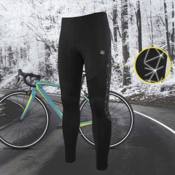 Santic Men Cycling Pants Winter MTB Long Pants Reflective Keep Warm Bicycle Sports Leisure Trousers Asian Size K7MB018H - DISCOUNT ITEM  40 OFF Sports & Entertainment