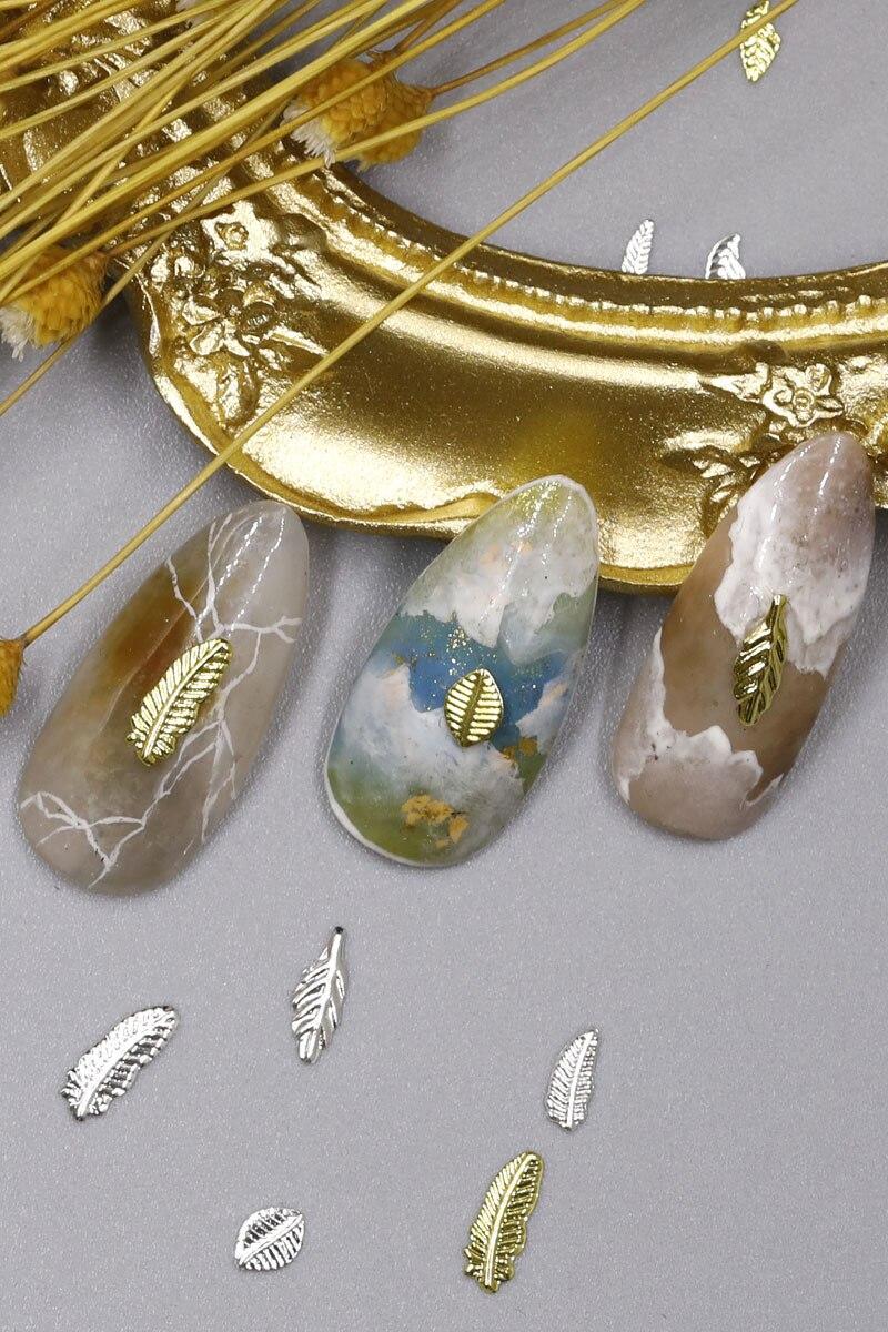 metal manicure acessórios da arte do prego diy unhas decorações encantos