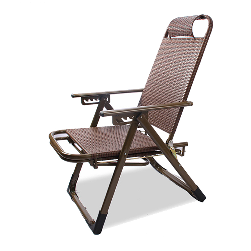 Rattan Chair Folding Lunch Break Chair Chair Couch Couch Beach Chair Elderly Chair Outdoor Office Chair
