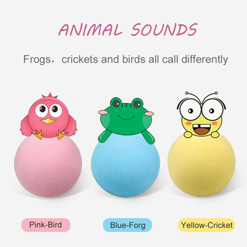 Smart Cat Toys Interactive Ball Catnip Cat Training Toy Pet Playing Ball Pet Squeaky Supplies Products Toy for Cats Kitten Kitty 2