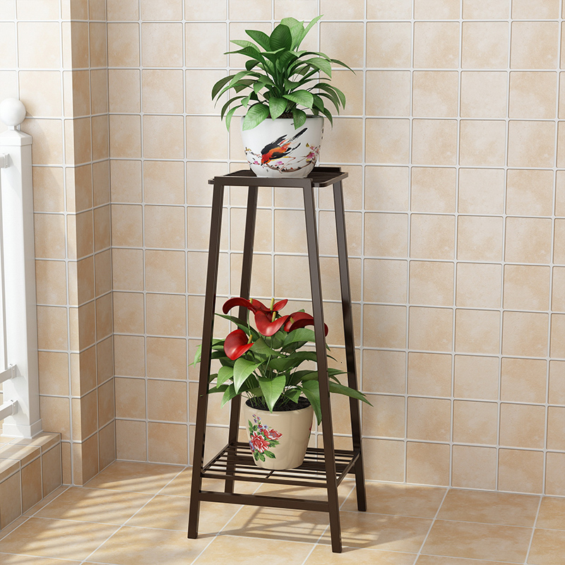 Multi-storey Indoor Household Balcony Decorate Iron Art A Living Room Province Space Flowerpot Landing Type