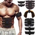 Мышечный Стимулятор мышц брюшного Фитнес тренажер Smart EMS Электрический встык тела уменьшая Вес против потери устройства массажер
