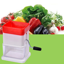 2018 NEW Manual Food Chopper Household Vegetable Chopper food truck Shredder Multifunction Food Processor Crusher dropshipping(China)