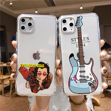 Harry Styles Treat People With Kindness One Direction Phone Soft Case For iPhone 11 12Pro Mini XS MAX XR 7 8 6 Plus Fundas Coque