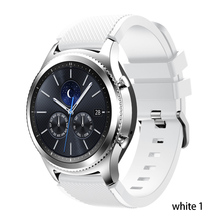 Strap For Samsung Galaxy watch 3 45mm 41 active 2 gear S3 Frontier huawei watch gt 2e 2 amazfit bip gts strap 20 22mm watch Band cheap RCAT CN(Origin) 22cm Watchbands Silicone New with tags for 20mm 22 mm amazfit gts 2 bip gtr 47mm 46mm 42mm for garmin vivoactive 3 4 4s GT2e GT2 xiaomi haylou ls05 smart watch