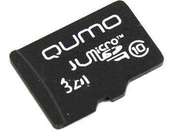 Memory card 32GB-qumo microSDHC SecureDigital class 10 qm32gmicsdhc10na (original!)