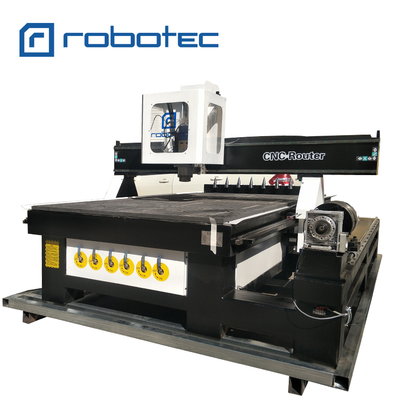 China 3D Wood Engraving Machine ATC CNC Router SYNTEC Control System CNC Milling Machine With 9.0kw Air Cooling Spindle