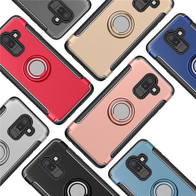 Support Antichoc Bague Housse Pour Samsung Galaxy J8 J7 J6 J5 J4 Préférentiel Plus J3 J2 Pro 2018 2017 2016 J730 J530 J330 LUE J710