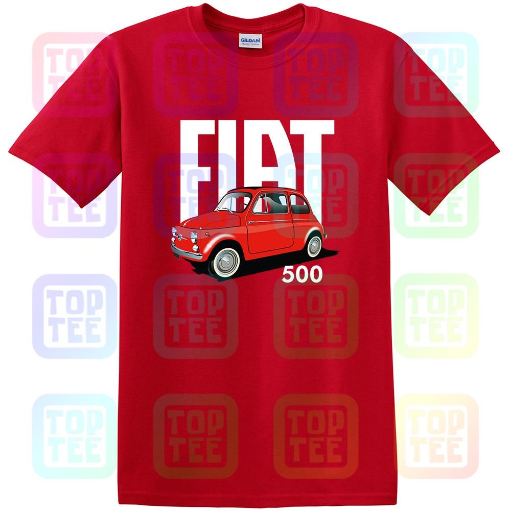 Fiat Barchetta Roadster 1995 Retro Style Mens Car T-Shirt