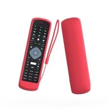 ซิลิโคนป้องกันซิลิโคนสำหรับPhilips TV NETFLIX HOF16H303GPD24 Remote