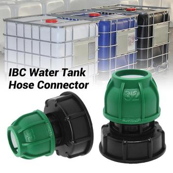 1pcs 20/25/32mm IBC Tank Adapter IBC Adapter Water Tap Connectors Garden Water Tank Hose Connector Perfect Accessory garden water connectors palisad 66425 splitter plastic round tap connectors