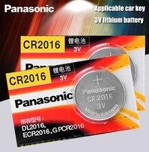 Panasonic Bateria De Lítio De Qualidade Superior 2 PÇS/LOTE 3V Li-ion Botão Bateria de Relógio cr2016 Coin Baterias cr 2016 DL2016 ECR2016 GPCR