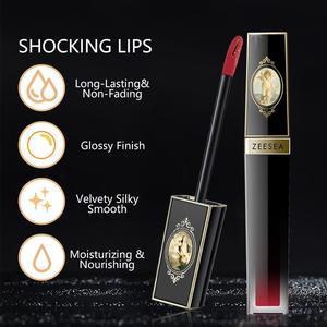 Image 3 - ZEESEA nowy 3 kolory mat aksamit nawilżający odżywczy balsam do ust połysk wodoodporny, długi trwały błyszczyk do ust płyn Lip kosmetyczne