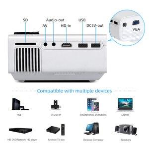 Image 5 - BYINTEK K1plus taşınabilir ev sineması Mini 1080P Video oyunu LED projektör Beamer Proyector için Smartphone 1080P 3D 4K sinema