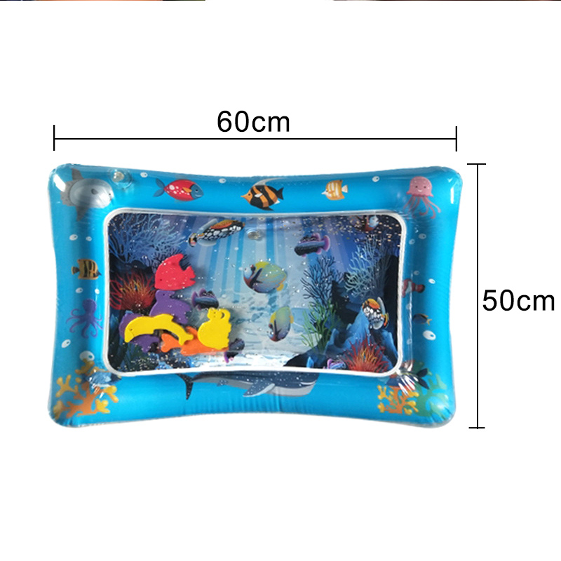 1 Pcs Baby Kids Inflatable Water Mat Patted Play Pad Cushion Toys Early Education Hot Sales
