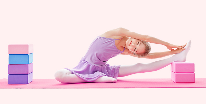 Eva yoga tijolos almofada almofada almofada almofada