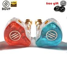 BGVP DS1 Noise Canceling Headphone Hifi DJ Hybrid Technology In Ear Monitor High Fidelity MMCX Earphone