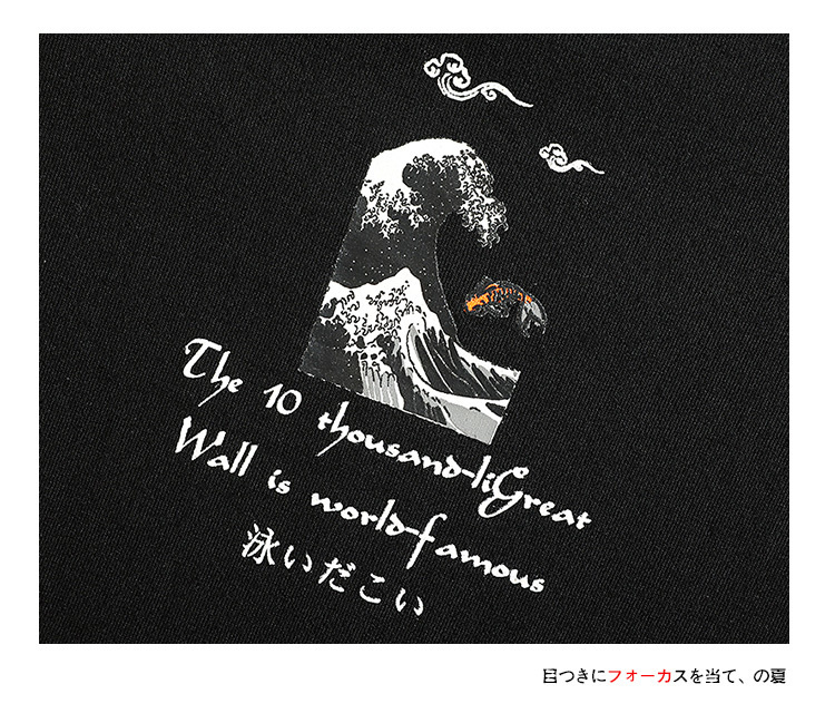 Ανδρική καλοκαιρινή ριχτή μπλούζα βαμβακερή με πρωτότυπο σχέδιο έως 5xl msow