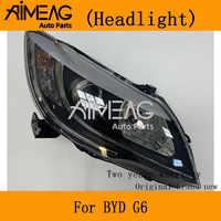 Make for BYD G6 montaż reflektora dalekie światło w pobliżu lampy G6 przedni klosz przednia obudowa lampy 6 oświetlenie
