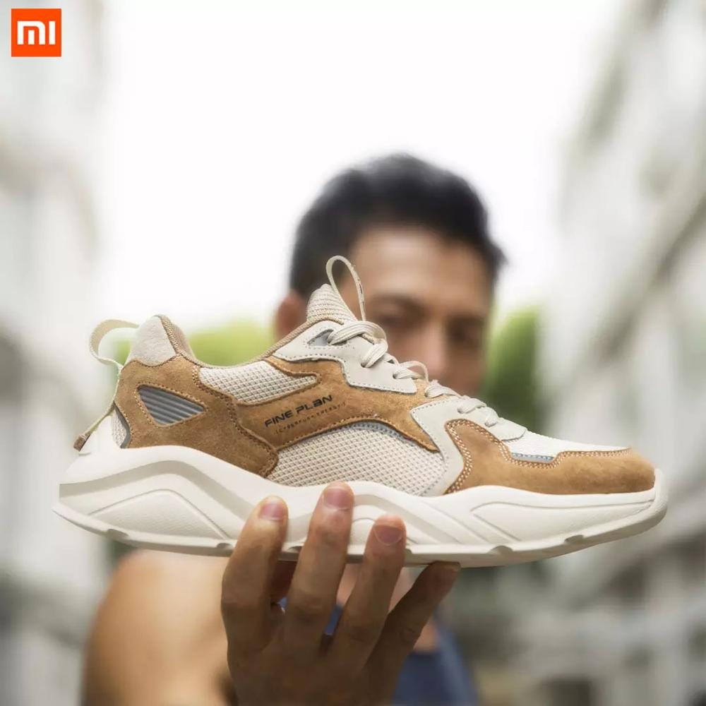 Xiaomi Mijia FINE PLAN LJM004 Fashion Retro Shoes Reflective Men Women Sneakers Non slip Wear Resistant Sports Running Shoes Smart Remote Control  - AliExpress