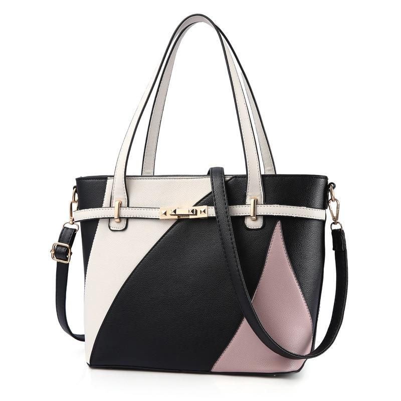 Luxury Handbags Women Bags Designer Fashion Crocodile Pattern Tote Bag Ladies Soft Leather Large Capacity Fashion Shoulder Bags