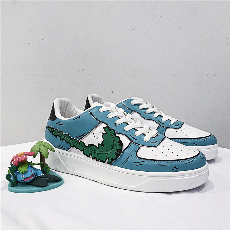 Brand Men Anime Sneakers 2020 Fashion Lace-up Casual Footwear Men Sneakers Breathable Vulcanized Shoes Teens Street Travel Shoes