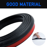 Car Hood Sealing Strip Universal Auto Rubber Seal Strip for Engine Covers Seals Trim Sealant Waterproof Anti Noise Accessories