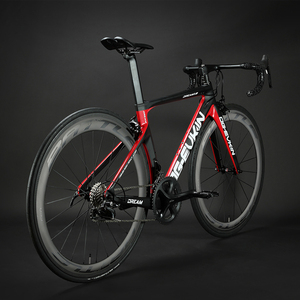 Image 5 - OG EVKIN ホット 22 スピードカーボン完全なロードバイク 700C ud マット光沢のある道路カーボン自転車 45 ミリメートルホイールバイク v ブレーキフォーク 2019