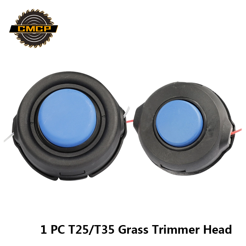 1pc T25/T35 Universal Grass Trimmer Head String Trimmer Head For Lawn Mower Brush Cutter Head Grass Trimmer Accessories