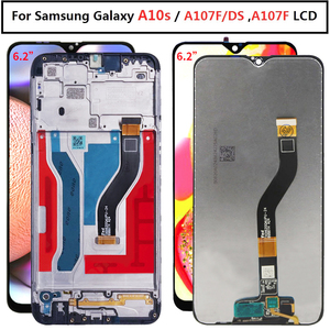 For Samsung galaxy A10s lcd Display A107/DS A107F A107FD A107M Touch Screen Digitizer with frame
