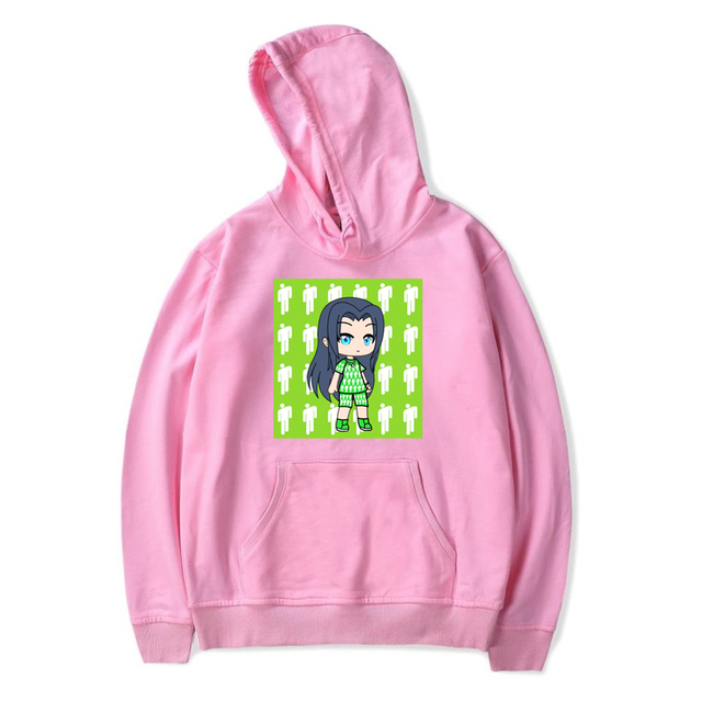 BILLIE EILISH THEMED HOODIE (28 VARIAN)