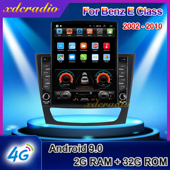 Xdcradio 10.4 Android 9.0 Tesla Style For Mercedes Benz E Class S211 W211 CLS C219 Car Radio Multimedia Player GPS Navigation image