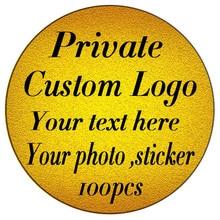 100 3 8CMcustom 스티커 및 크기 로고 웨딩 스티커 디자인 자신의 스티커 맞춤 스티커 디자인 자동차 창 스티커