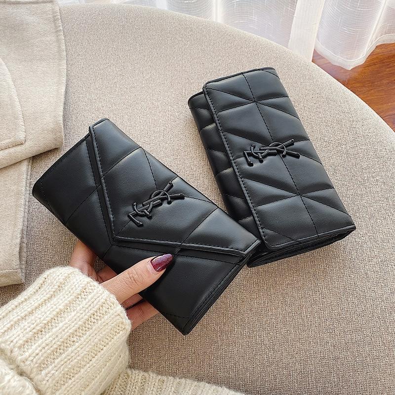 Роскошные брендовые кожаные женские дизайнерские кошельки на молнии, дизайнерский клатч, кошелек, Женский держатель для денег, кредитных к...