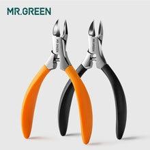 MR.GREEN مانيكير أدوات المهنية الفولاذ المقاوم للصدأ أظافر سميكة نام مقص الجلد الميت حول الأظافر المتقلب ذو طيات مقص مسمار كليبرز